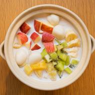 ココナッツミルクフルーツ鍋
