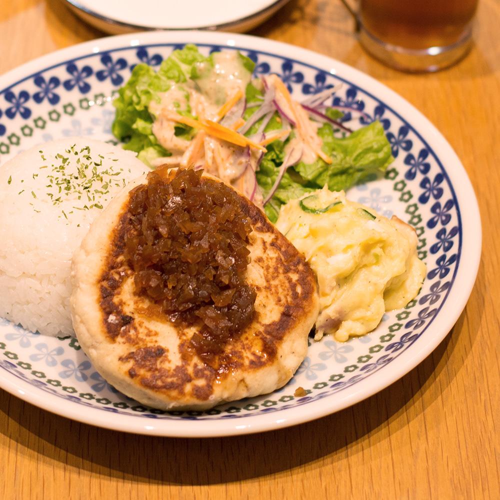 豆腐ハンバーグプレート